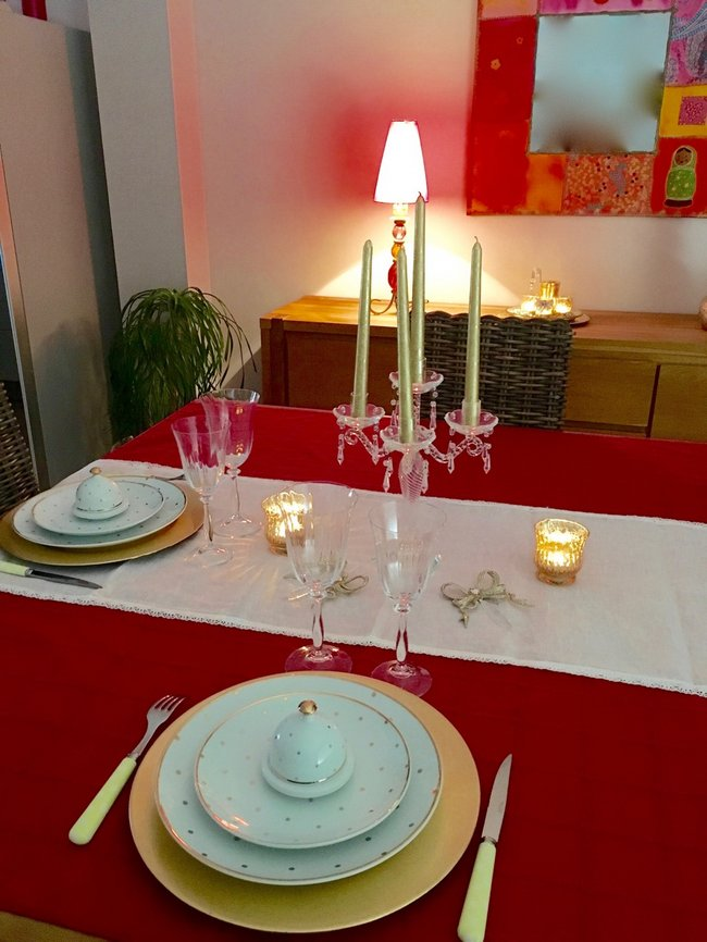 01 FEVRIER - TABLE DE SAINT VALENTIN