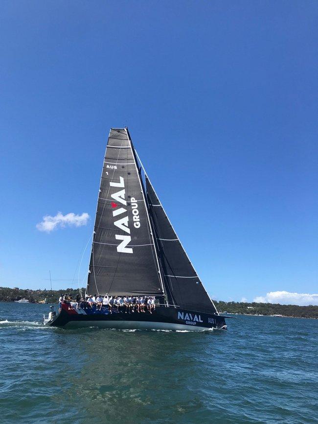 11ème place pour l'équipage franco-australien Naval Group 3
