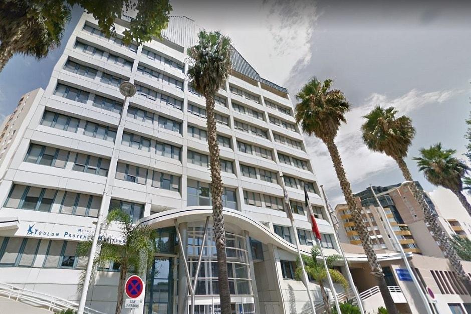 L'Hôtel de Métropole TPM, Boulevard Fabre à Toulon (Var). Capture d'écran Google Maps / Street View