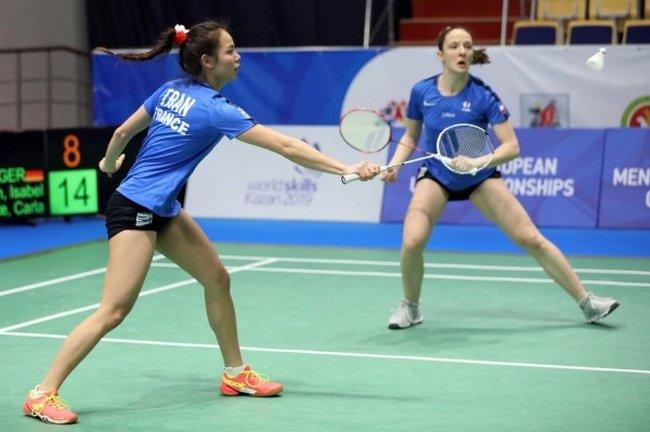 Badminton (ChEurope par équipe) 1