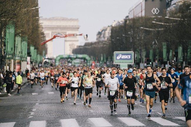 asics pour marathon