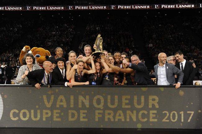 Bourges-Vainqueur Coupe de France 2017
