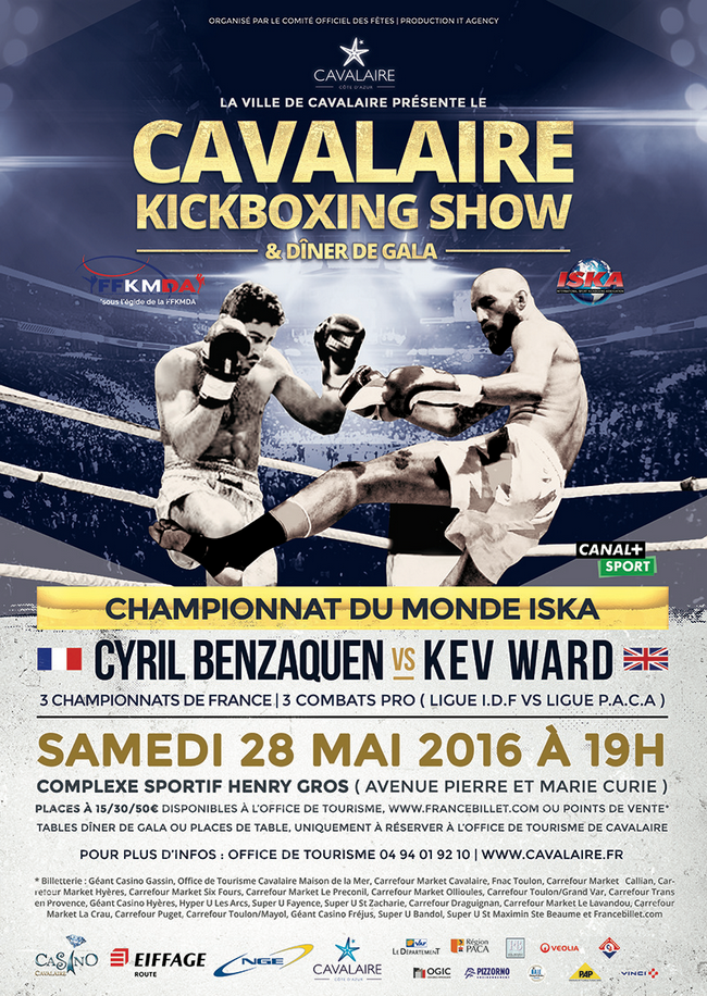 cavalaire championnat du monde de kick boxing le 28 mai 2016 presse agence sport. Black Bedroom Furniture Sets. Home Design Ideas