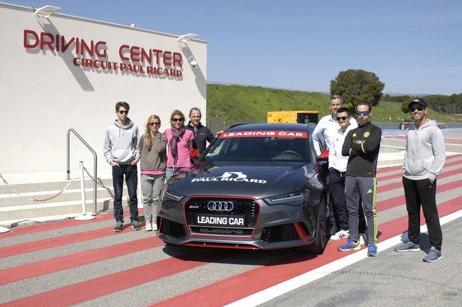 Challenge relevé pour des jeunes déficients visuels au Circuit Paul Ricard