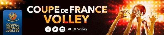 Volley ball coupe de france masculine et f minine qui en finale presse agence sport - Coupe de france de volley ...