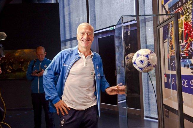 Didier DESCHAMPS, l'entraineur de l'équipe de France de Football