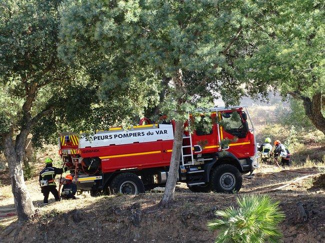 pompiers feux de forêt
