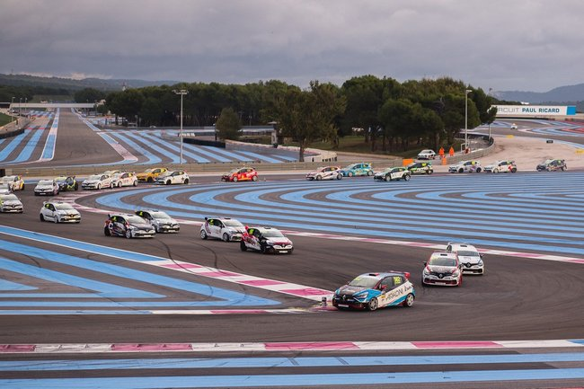 Finale internationale Renault Clio Cup au Circuit Paul Ricard