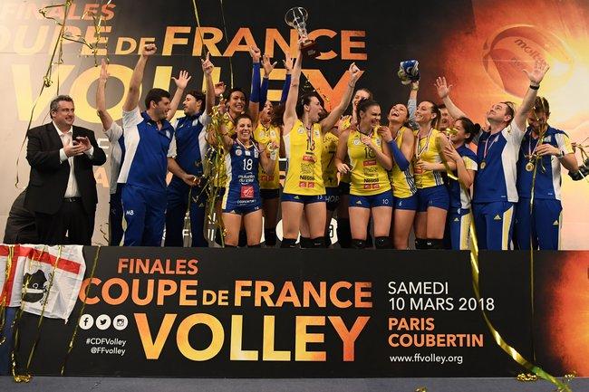 Finales Coupe de France 2018 - Chez les féminines, CANNES, et de vingt 3