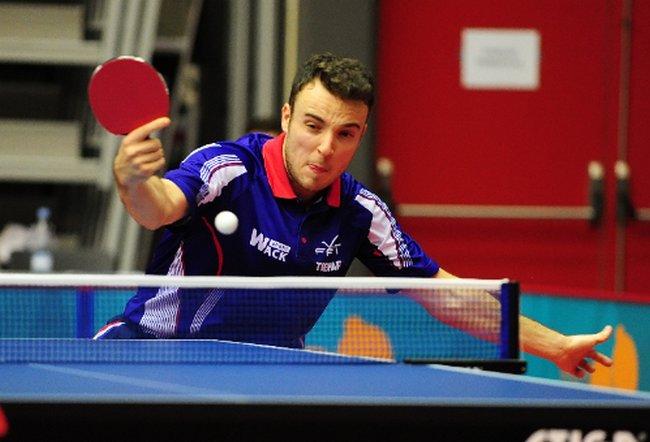 Tennis de table jeux olympiques de rio gauzy et li rio grundisch en attente presse - Classement mondial tennis de table ...