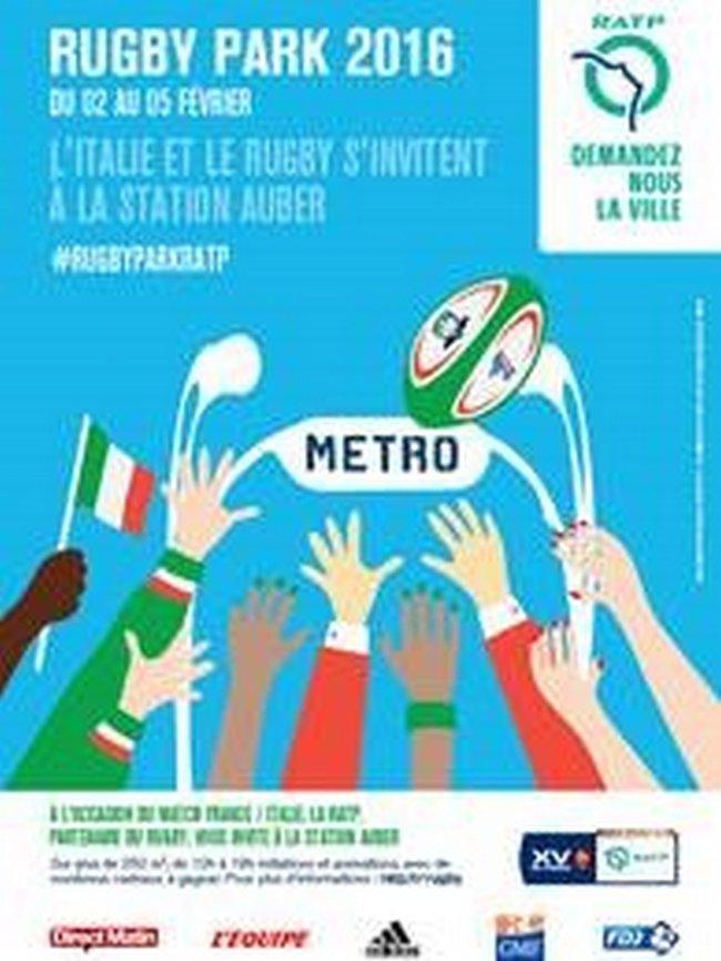 GMF partenaire du Rugby Park RATP