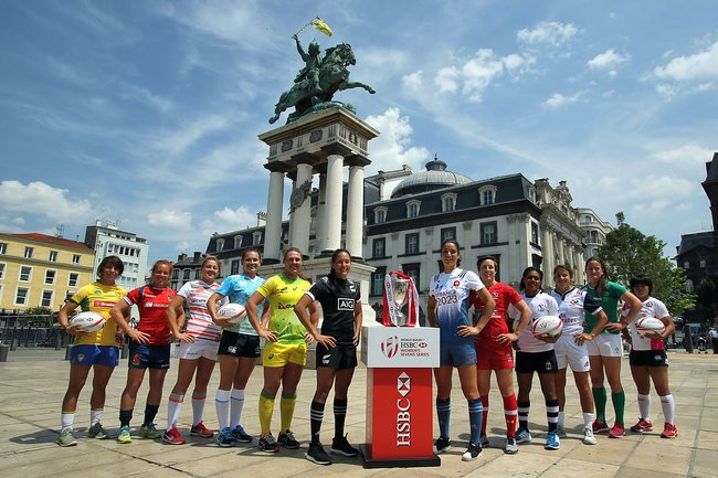 HSBC CLERMONT-FERRAND SEVENS - PHOTO DES CAPITAINES