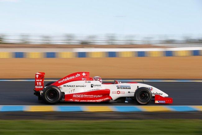 Kevin Jörg le plus rapide au Mans 1