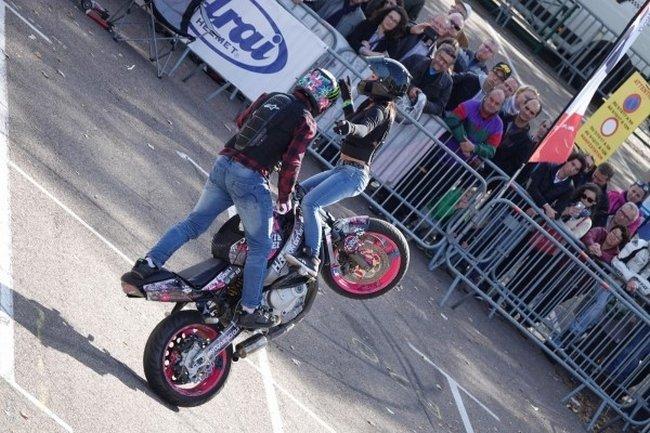 La fête à TOULON pour l'arrivée du Moto Tour 2