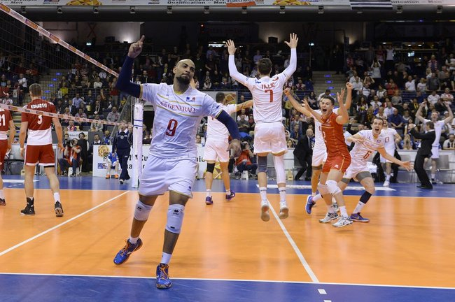 La FRANCE tient sa finale face à une équipe de POLOGNE championne du monde en titre 6
