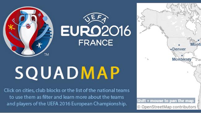 La visualisation de données mise à l'honneur avec l'Euro 2016 16
