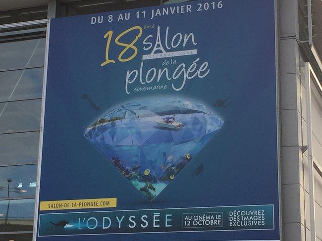 Le 18ème Salon de la PLONGEE Sous-Marine s'est tenu à Paris du 8 au 11 janvier 2016 2