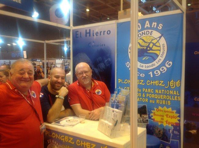 Le 18ème Salon de la PLONGEE Sous-Marine s'est tenu à Paris du 8 au 11 janvier 2016 5