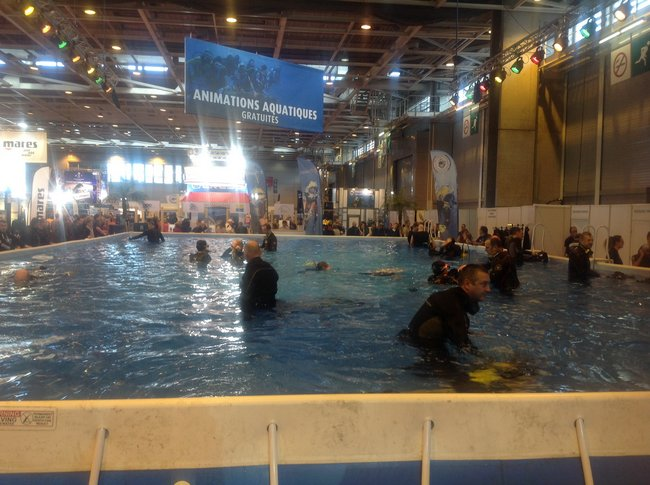 Le 18ème Salon de la PLONGEE Sous-Marine s'est tenu à Paris du 8 au 11 janvier 2016 8