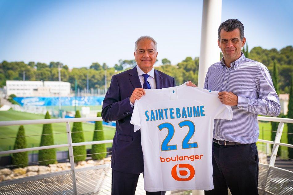 L'eau minérale de Provence Sainte Baume devient le nouveau partenaire région du club