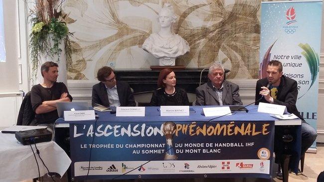 le handball à la conquête du Mont Blanc 3