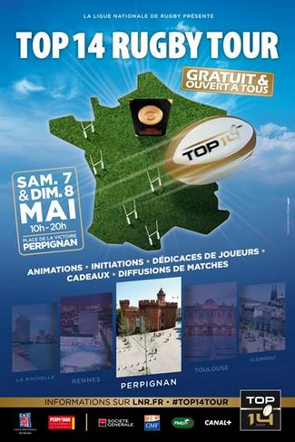 LE TOP 14 RUGBY TOUR 2016 2