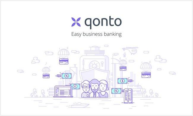 Levée d'amorçage de 1,6 M€ pour Qonto
