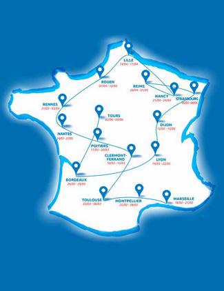 L'Exposition universelle de 2025 sur les routes de France 1