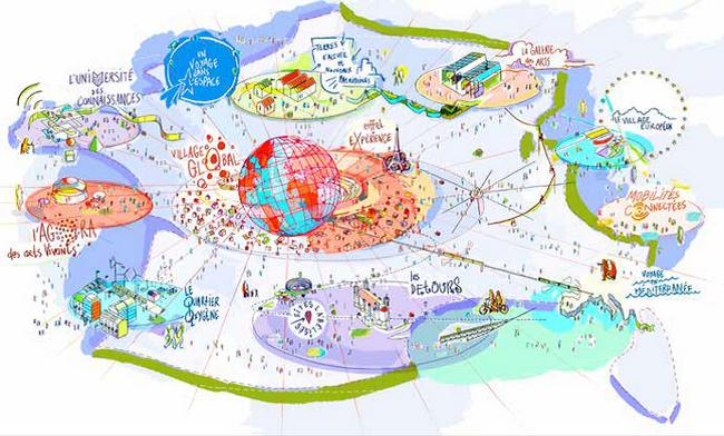 L'Exposition universelle de 2025 sur les routes de France 7
