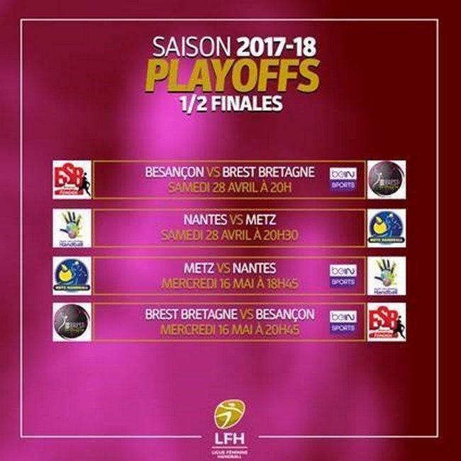 LFH - Demi-finales des playoffs, samedi 28 avril 2018 2