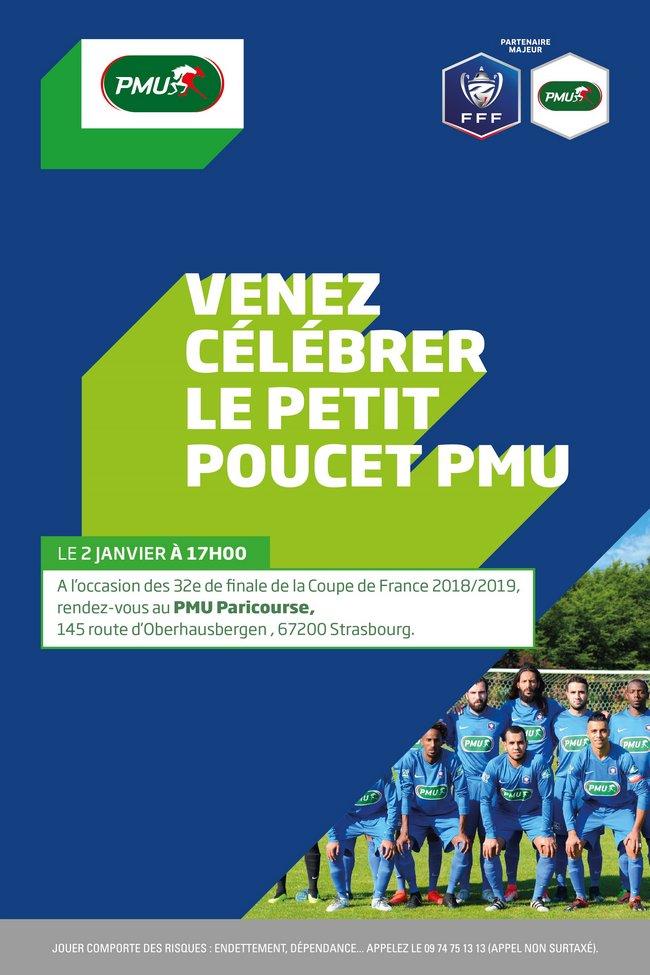 l'Olympique Strasbourg, Petit Poucet PMU à l'honneur