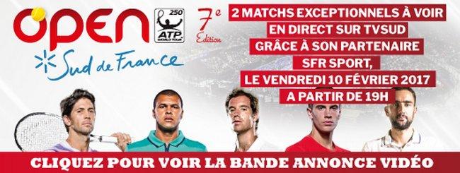 l'Open Sud de France 1