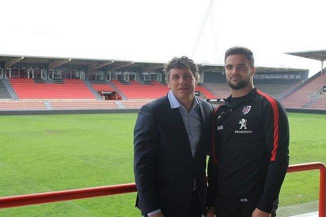 Lucas Tauzin prolonge au Stade Toulousain