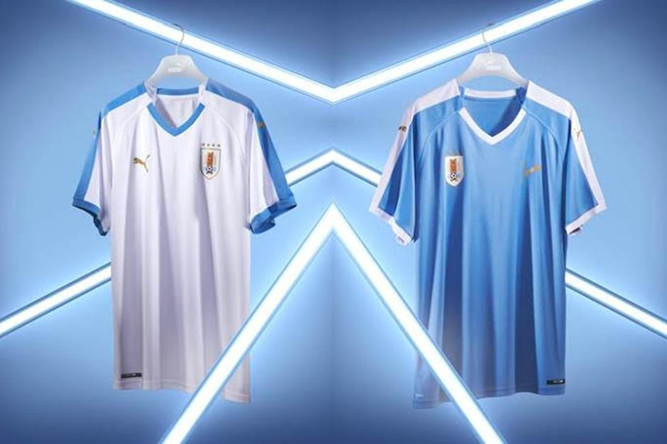 28c7c7a52cd5b PUMA Football présente les nouveaux maillots de l Uruguay - Presse ...