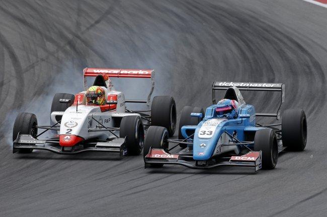 Mi-saison animée en Autriche pour l'Eurocup Formula Renault 2