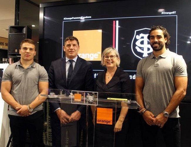 Orange et le Stade Toulousain reconduisent leur partenariat pour quatre nouvelles saisons