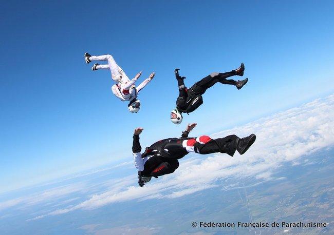 parachutisme discipline