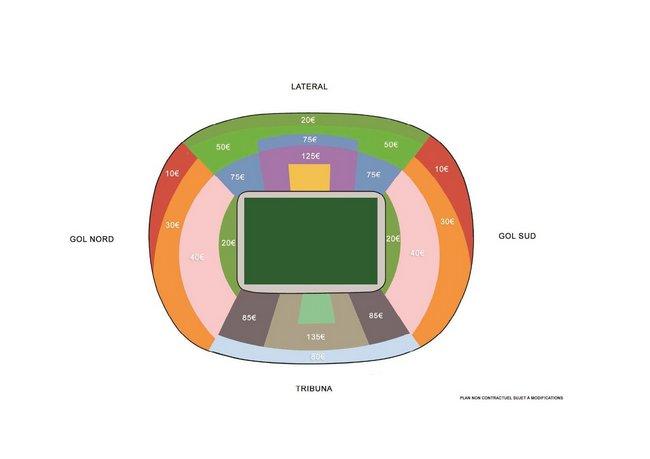 Plan Stade Barcelone Finale 2016