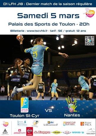 prochain match Toulon St Cyr Var Handball