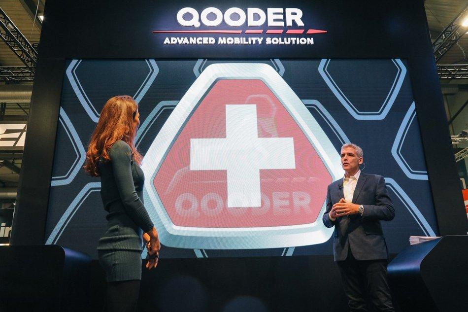 Qooder présente sa gamme du Salon de l'auto de Genève 2020 en ligne