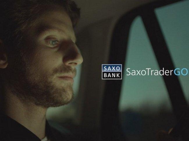 Saxo Bank devient sponsor du pilote de Formule 1 Romain Grosjean pour l'année 2016
