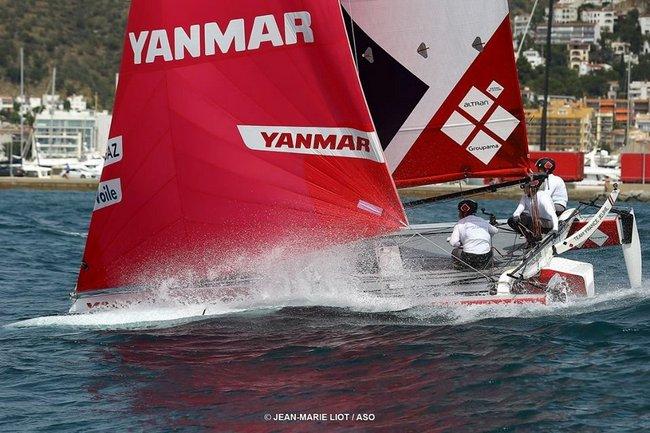 Team France Jeune, le gennaker rose leur va si bien 3