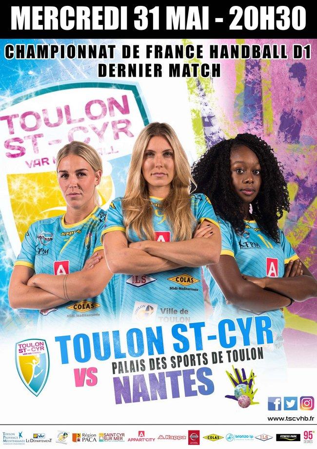Toulon St Cyr Var Handball-Nantes 1