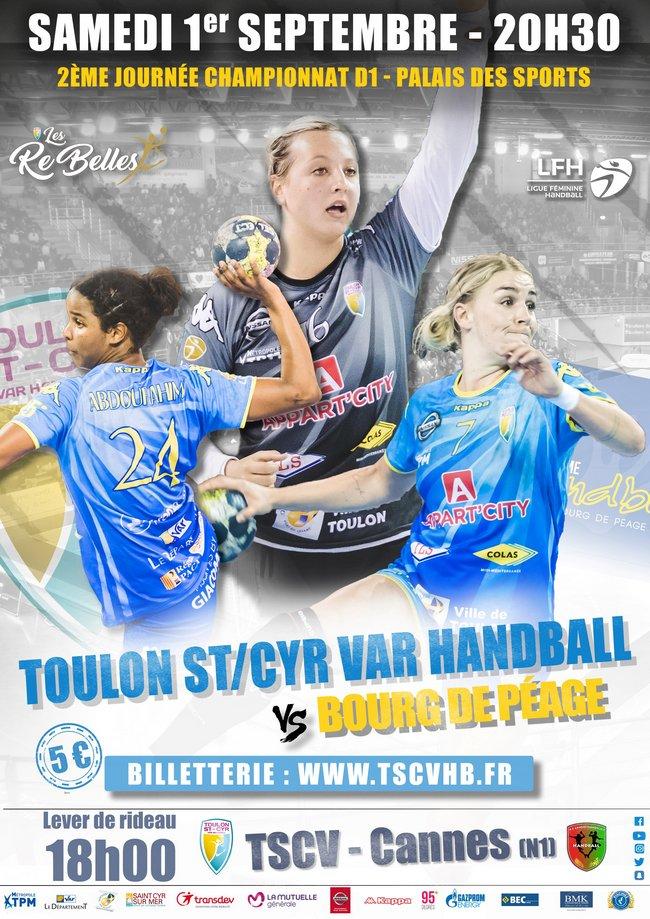 Toulon StCyr Var Handball est prêt pour attaquer la saison 2018-2019 !