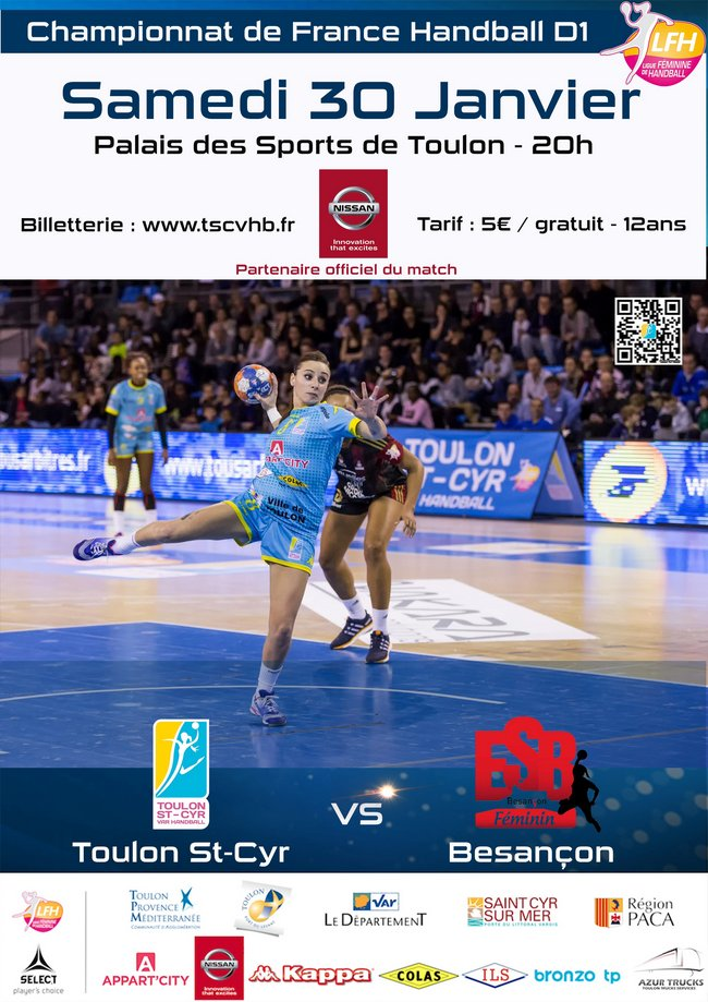 Toulon St Cyr Var Handball play off