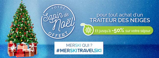 Travelski offre un sapin de Noël 1