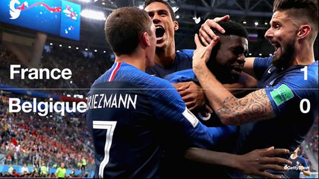 Twitter revient sur la qualification en finale des Bleus !