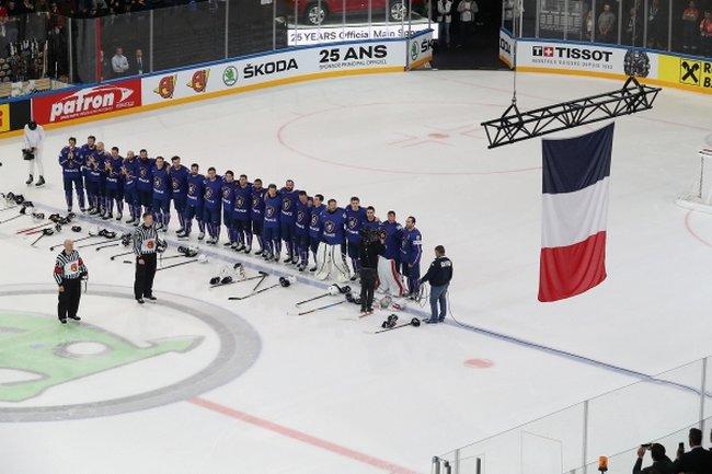 hockey sur glace championnat du monde 2017 une victoire au courage face la bielorussie. Black Bedroom Furniture Sets. Home Design Ideas