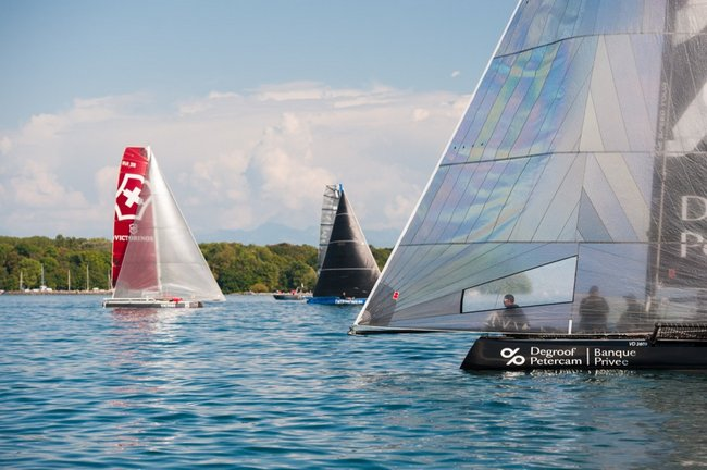 VOILE - TeamWork M2 Speed Tour - Degroof Petercam remporte la Perroy Cup 1