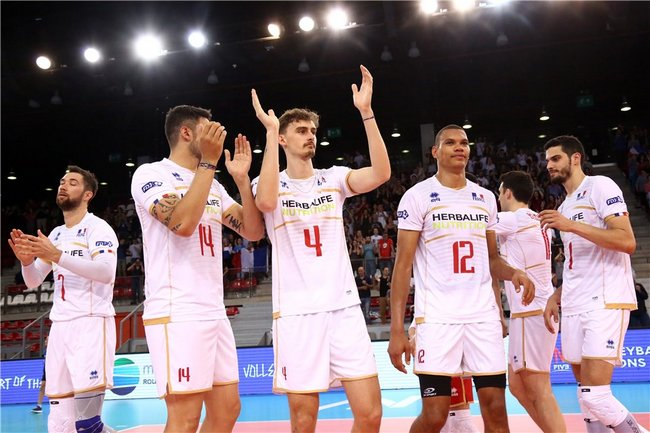 Volleyball Nations League face à l'Iran 2